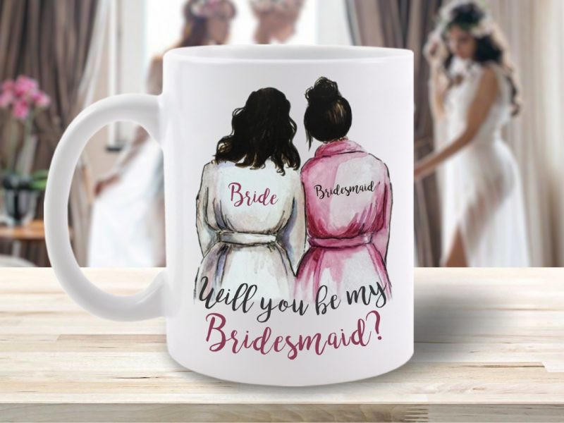 Cană Will You Be My Bridesmaid?