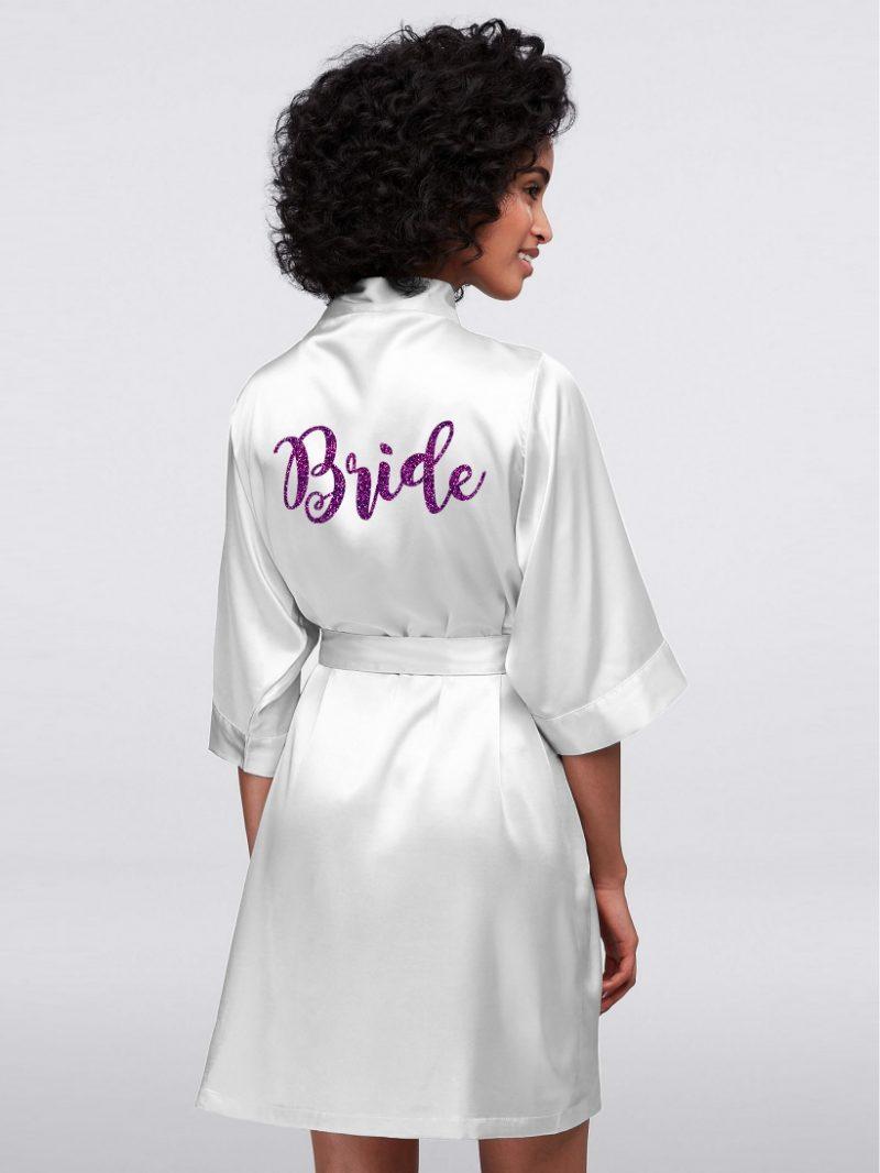 HALAT BRIDE GLITTER MOV