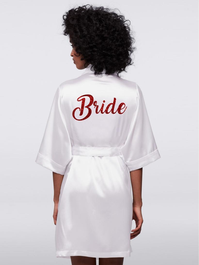 HALAT BRIDE GLITTER ROSU