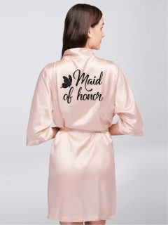 HALAT MAID OF HONOR BUTTERFLY