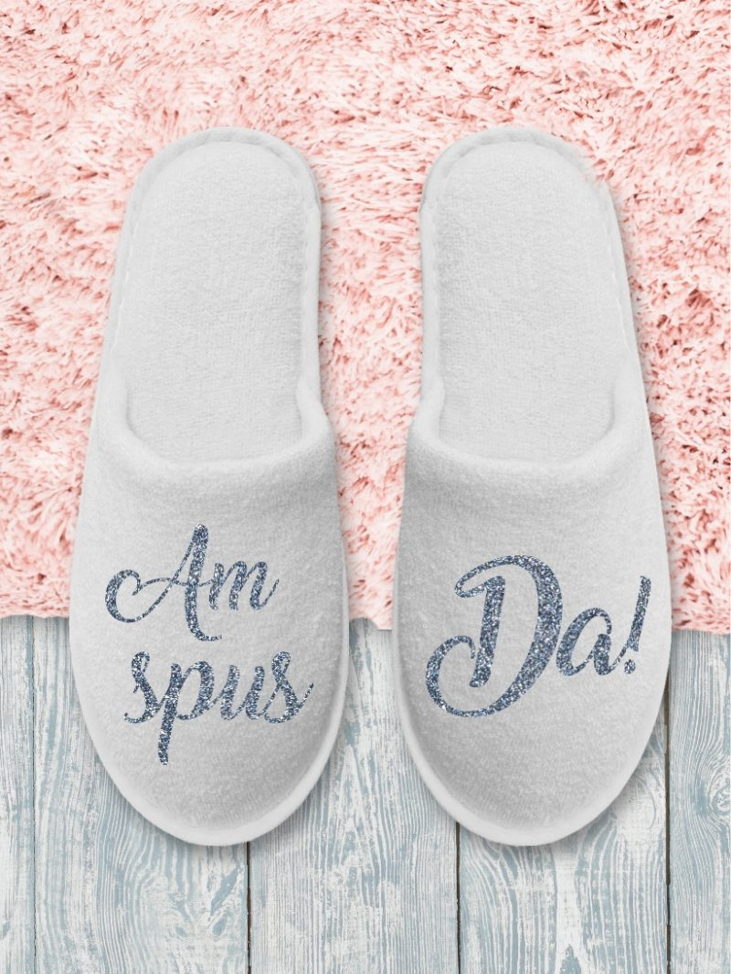 Papuci Mireasă Am spus Da!