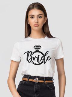 TRICOU BRIDE INEL GLITTER NEGRU