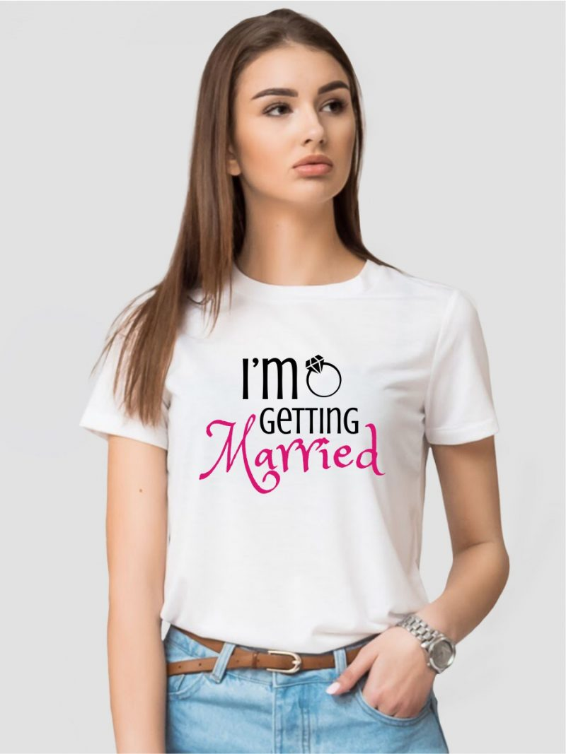 TRICOU MIREASA IM GETTING MARRIED