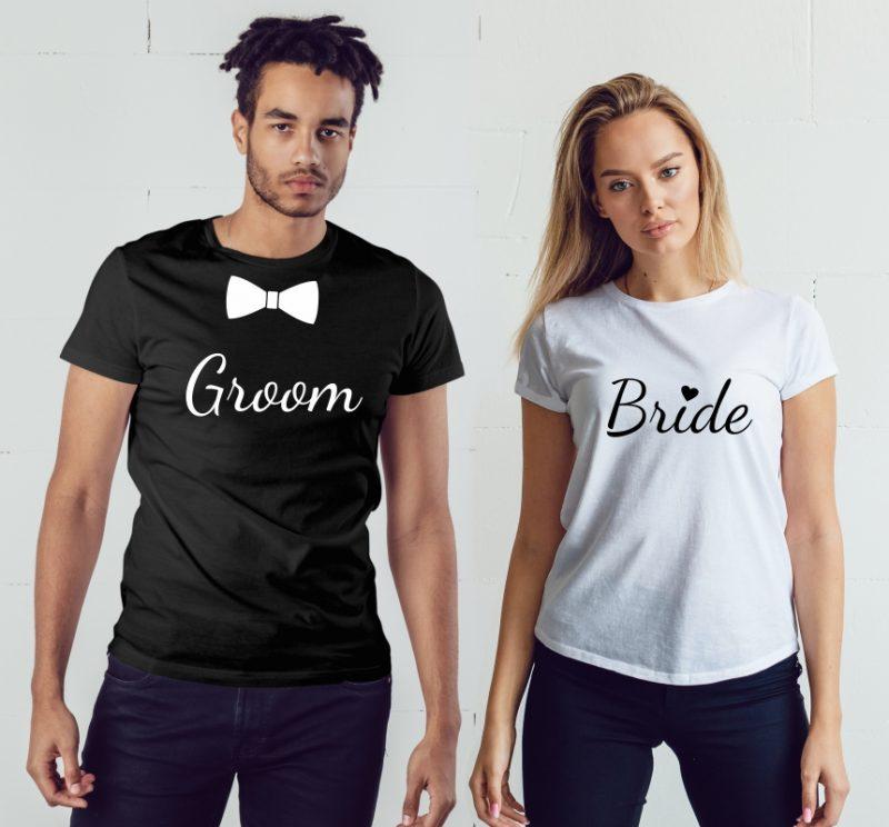 TRICOURI CUPLU GROOM BRIDE