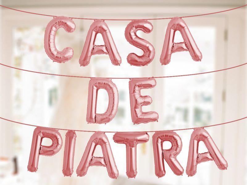 BALOANE CASA DE PIATRA ROSE GOLD