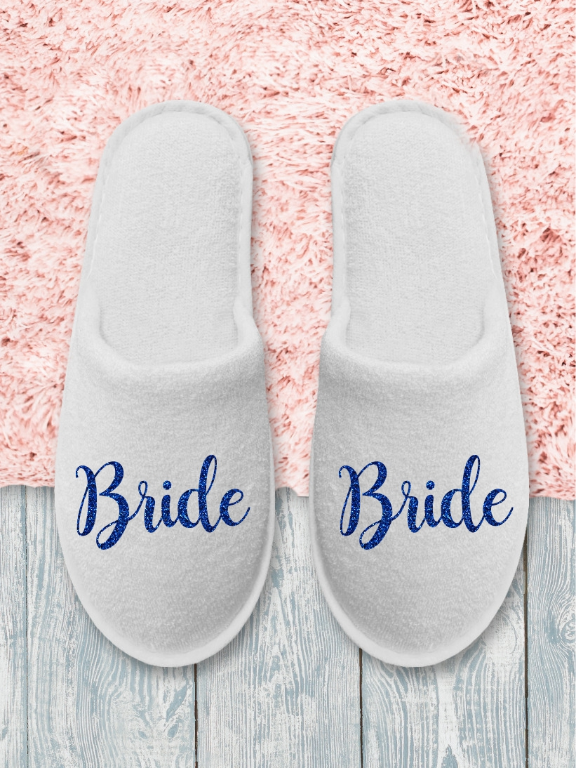 Papuci Bride Albastru