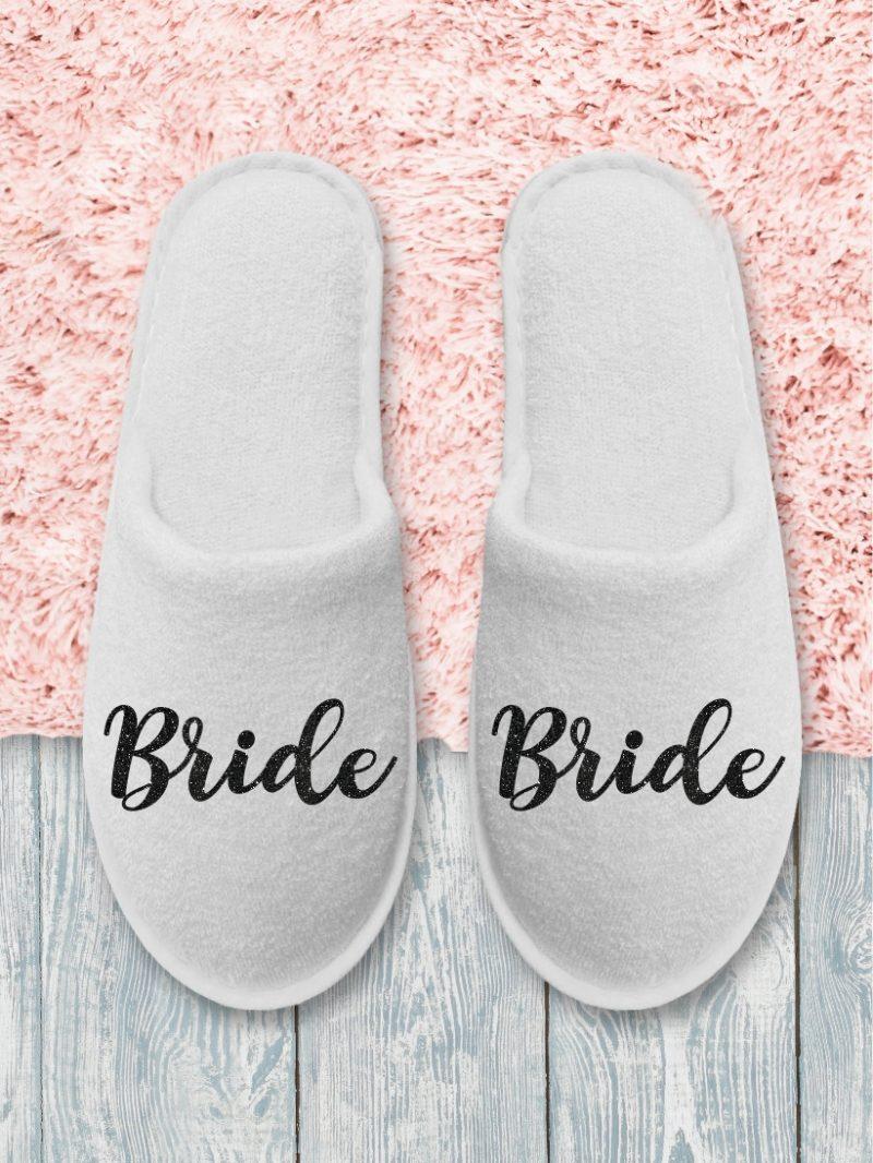 Papuci Bride Negru