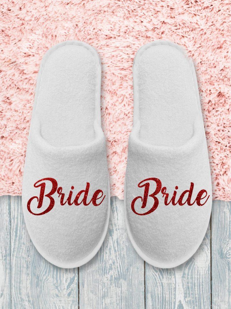 Papuci Bride Roșu