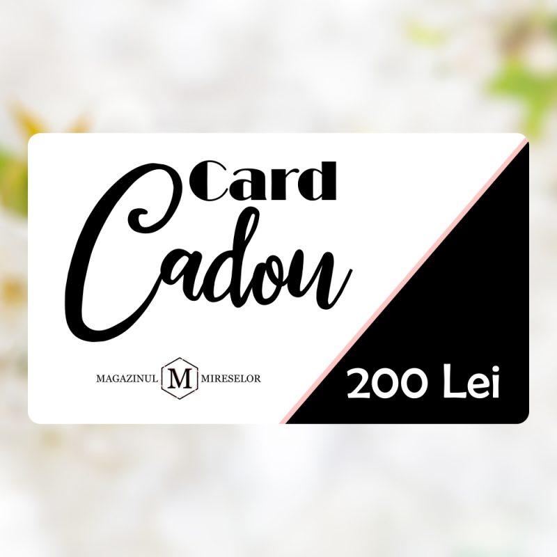 Card Cadou Virtual 200 Lei