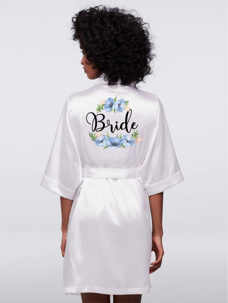 HALAT BRIDE ANEMONE BLEU